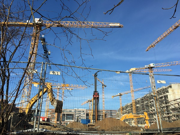 Baufinanzierung trotz Kredit Haus Baustelle